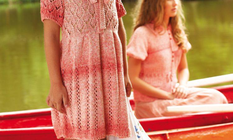 Kötött ruha kislányoknak