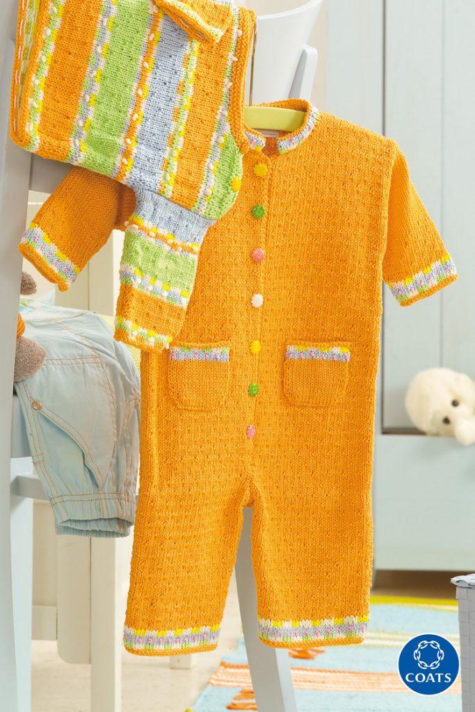 Narancsszínű overall kisgyerekeknek - 71 PDF