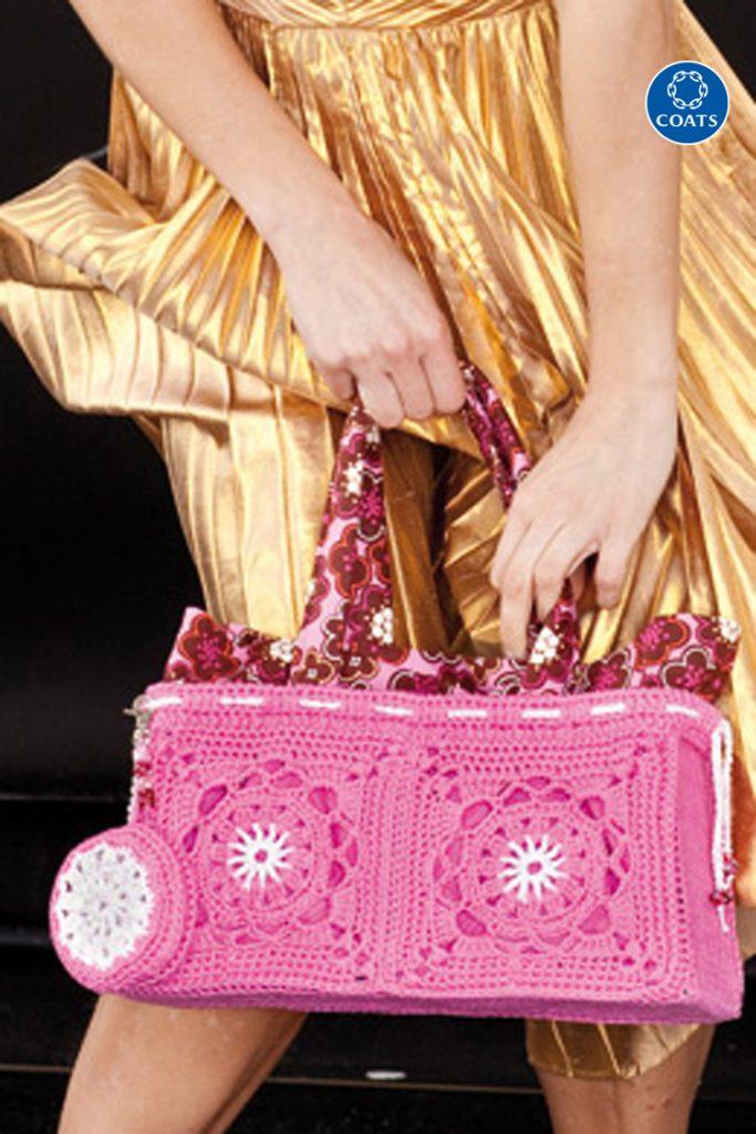 Pink horgolt táska minta 362 PDF