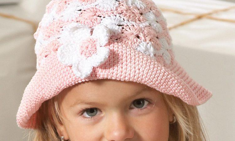 Rózsaszínű kislánykalap