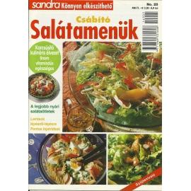 Sandra könnyen elkészíthető Csábító salátamenük 25.