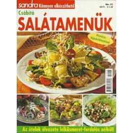 Sandra könnyen elkészíthető Csábító Salátamenük 15.