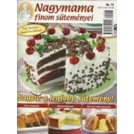 Nagymama finom süteményei Nagyié a legjobb sütemény 13