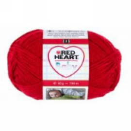 Red Heart baby 8505 piros