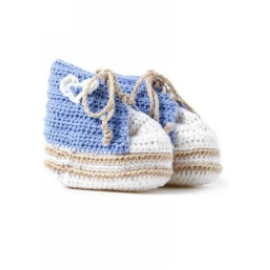 836 Horgolt baba cipőcskék