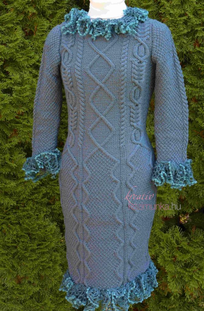 A kötött ruhák nem hiányozhatnak az őszi-téli ruhatárunkból! Ha rászánjuk  az időt az elkészítésükre 1115d5f92b