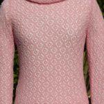 csipkemintás pulóver lace