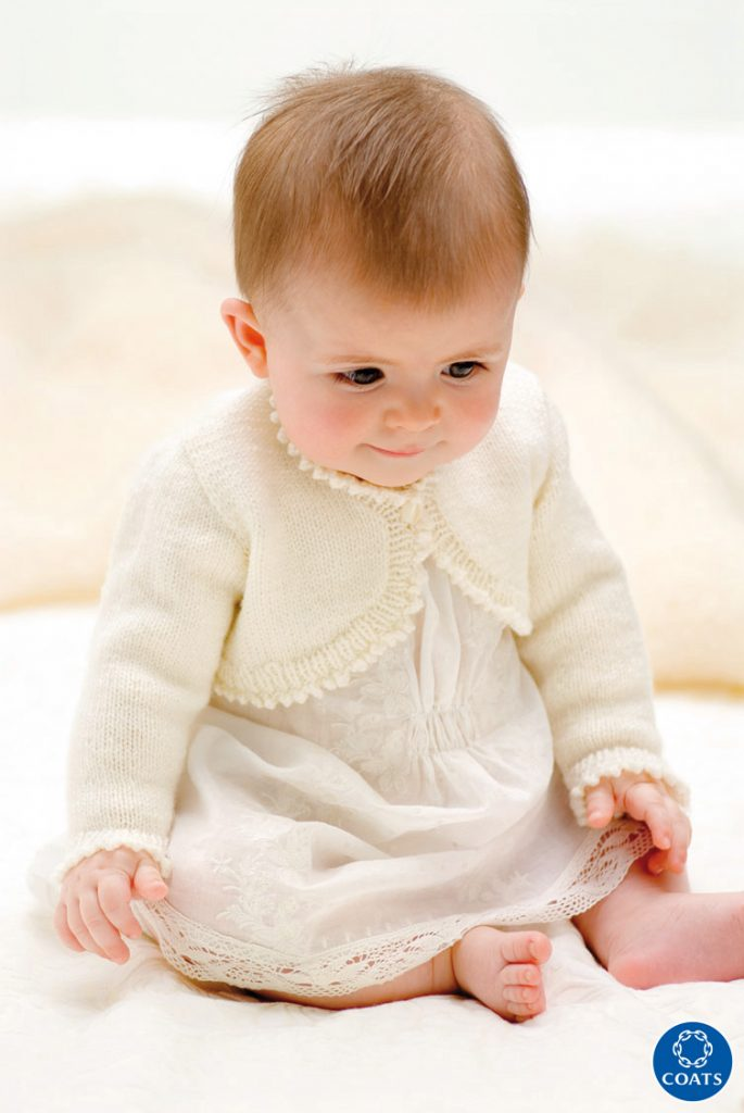 Boleró kisbabáknak 1. modell leírása- 107 PDF