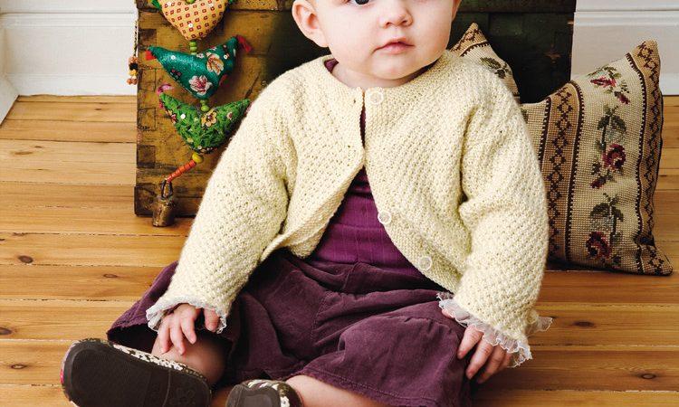 Kardigán kisbabáknak leírás és szabásminta -140 PDF