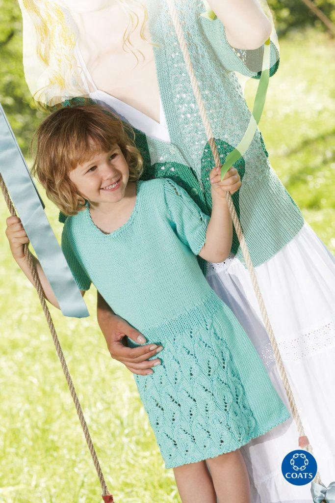 Csipkemintás kislány ruha Cataniából
