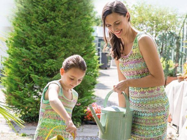 Horgolt női ruha Letizia fonalból 816 PDF