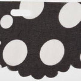 Sassy Fabric Fekete pöttyös 09931