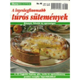 Diana Receptek 46 Túrós sütemények