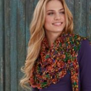 Creative lace kendő