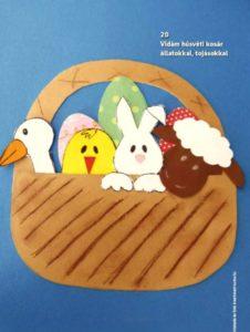 húsvéti papírkép